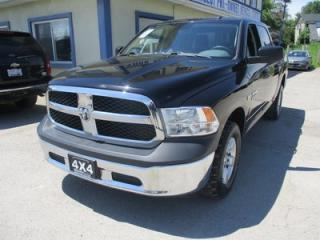 Used 2014 Dodge Ram 1500 WORK READY TRADESMEN EDITION 6 PASSENGER 5.7L - HEMI.. 4X4.. CREW.. SHORTY.. AUX/USB INPUT.. BACK-UP CAMERA.. for sale in Bradford, ON