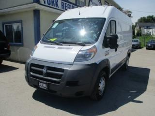 Used 2014 RAM 2500 ProMaster 3/4 TON CARGO MOVING 2 PASSENGER 3.0L - ECO-DIESEL.. HIGH-ROOF.. SHORTY.. 136