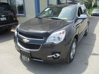 Used 2014 Chevrolet Equinox ALL-WHEEL DRIVE LTZ MODEL 5 PASSENGER 3.6L - V6.. LEATHER.. HEATED SEATS.. BACK-UP CAMERA.. POWER SUNROOF.. BLUETOOTH.. for sale in Bradford, ON