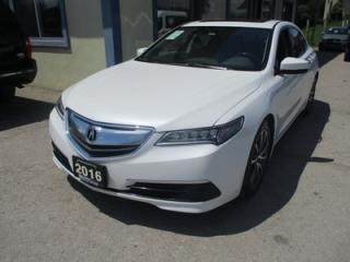 Used 2016 Acura TLX ALL-WHEEL DRIVE SH PACKAGE 5 PASSENGER 3.5L - SOHC.. NAVIGATION.. LEATHER.. HEATED SEATS.. POWER SUNROOF.. BACK-UP CAMERA.. for sale in Bradford, ON