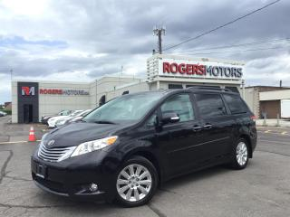Used 2013 Toyota Sienna LTD AWD - 7 PASS - NAVI - DVD - PANO ROOF for sale in Oakville, ON