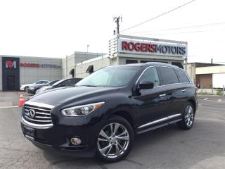 Used 2013 Infiniti JX35 AWD - 7 PASS - NAVI - DVD - PANO ROOF for sale in Oakville, ON