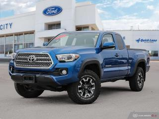 Used 2016 Toyota Tacoma SR5 for sale in Winnipeg, MB