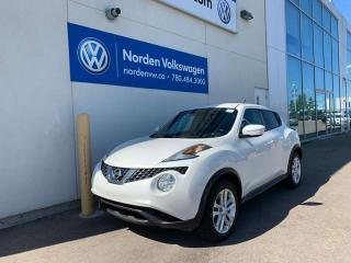 Used 2015 Nissan Juke SV 6SPD M/T - BACKUP CAM + PWR PKG for sale in Edmonton, AB