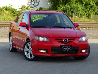 Used 2007 Mazda MAZDA3 GT, 1-OWNER,NO-ACCIDENTS,HEATED SEATS,FULLY LOADED for sale in Mississauga, ON