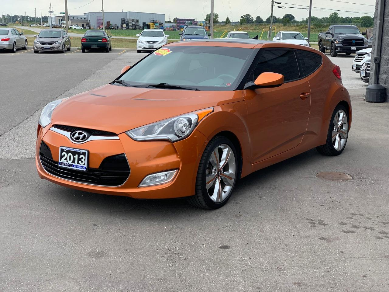 2013 Hyundai Veloster VELOSTER 3DR DCT 1.