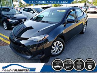 Used 2017 Toyota Corolla LE, AUTO, BANCS CHAUF, CAMERA for sale in Blainville, QC