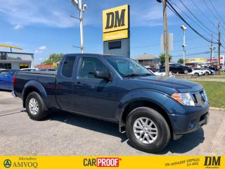 Used 2017 Nissan Frontier CREW  4X4  V6 **ENSEMBLE PRIVILÈGE** CAMÉRA+SONAR for sale in Salaberry-de-Valleyfield, QC