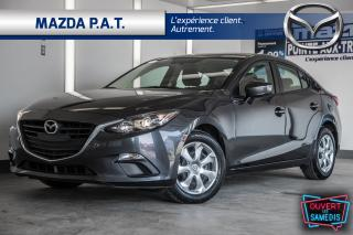 Used 2015 Mazda MAZDA3 2015 Mazda Mazda3 - 4dr Sdn Auto GX for sale in Montréal, QC