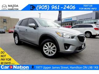 Used 2014 Mazda CX-5 GS | SUNROOF | REAR CAM | FWD | BLUETOOTH for sale in Hamilton, ON