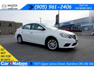 Used 2019 Nissan Sentra 1.8 S | SUNROOF | HEATED SEATS | REAR CAM for sale in Hamilton, ON
