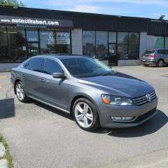 Used 2013 Volkswagen Passat TDI HIGHLINE **CUIR + TOIT** for sale in St-Hubert, QC