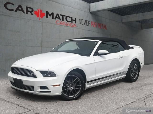 2014 Ford Mustang V6 PREMIUM / LEATHER