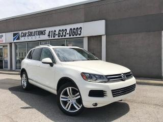 Used 2011 Volkswagen Touareg TDI Highline-Navi-pano-leather for sale in Toronto, ON