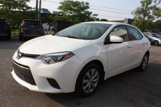 Used 2016 Toyota Corolla LE | BACKUP | HEATED SEATS | BLUETOOTH for sale in Toronto, ON
