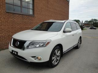 Used 2013 Nissan Pathfinder Platinum/NAVI /360 CAM/DVD /4WD for sale in Oakville, ON