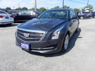 Used 2015 Cadillac ATS for sale in Windsor, ON