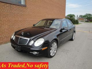 Used 2008 Mercedes-Benz E-Class 3.5L/LEATHER /SUNROOF for sale in Oakville, ON
