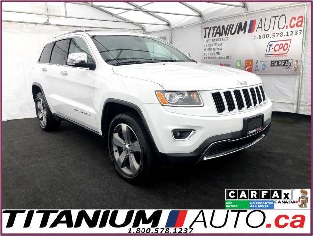 2015 Jeep Grand Cherokee Limited+4X4+Camera+Sunroof+Leather+Remote Start+XM
