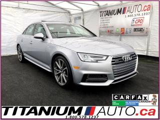 Used 2017 Audi A4 Technik+S-Line+Quattro+GPS+360 Camera+Blind Spot++ for sale in London, ON