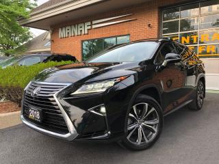 Used 2018 Lexus RX 350 RX 350L Luxury 7 Passenger Remote Stater Certified for sale in Concord, ON