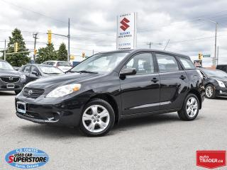 Used 2008 Toyota Matrix XR for sale in Barrie, ON