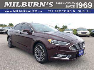 Used 2017 Ford Fusion Titanium AWD for sale in Guelph, ON