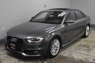 Used 2015 Audi A4 S Line for sale in Kitchener, ON