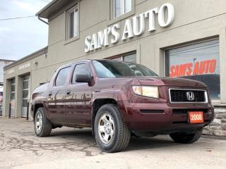 Used 2008 Honda Ridgeline 4WD Crew Cab LX for sale in Hamilton, ON