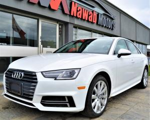 Used 2018 Audi A4 Quattro |LEATHER|HEATED SEATS|SUNROOF|PUSH START for sale in Brampton, ON