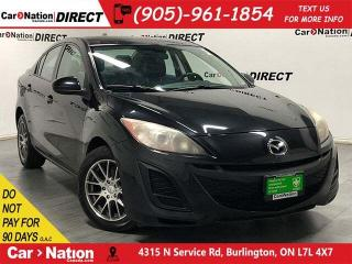 Used 2011 Mazda MAZDA3 GS| AS-TRADED| SUNROOF| LEATHER| HEATED SEATS| for sale in Burlington, ON