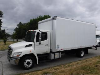 Used 2013 Hino 20 Foot Cube Van Diesel with Ramp for sale in Burnaby, BC