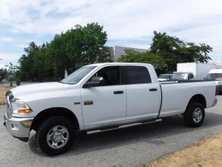 Used 2012 RAM 2500 SLT CREW CAB LWB 4WD for sale in Burnaby, BC