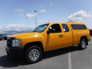 Used 2012 Chevrolet Silverado 1500 Work Truck Ext. Cab 4WD for sale in Burnaby, BC
