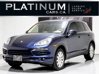 Used 2013 Porsche Cayenne V6 DIESEL,NAVIGATION, Blind SPOT, Camera for sale in Toronto, ON