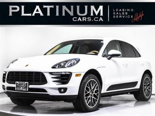 Used 2015 Porsche Macan S, 340HP AWD, NAV, CAM, PANORAMIC SUNROOF for sale in Toronto, ON