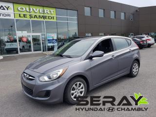 Used 2014 Hyundai Accent Gl, A/c, Bluetooth for sale in Chambly, QC