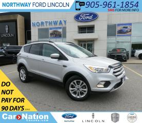 Used 2017 Ford Escape SE | PWR HTD SEATS | NAV | PWR LIFTGATE | for sale in Brantford, ON
