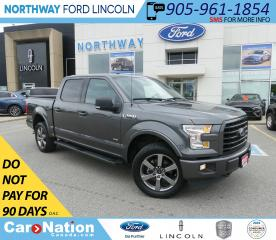 Used 2017 Ford F-150 XLT | 3.5L ECOBOOST | NAV | SPORT | MAX TOW PKG | for sale in Brantford, ON