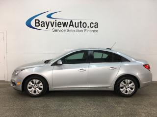 Used 2015 Chevrolet Cruze 1LT - BLACK BEAUTY! AUTO! A/C! PWR GROUP! BLUETOOTH! for sale in Belleville, ON