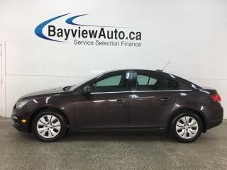 Used 2015 Chevrolet Cruze 1LT - AUTO! A/C! BIG SCREEN! CRUISE! BLUETOOTH! for sale in Belleville, ON
