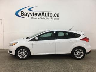 Used 2015 Ford Focus SE - AUTO! A/C! PWR GROUP! ALLOYS! + MORE! for sale in Belleville, ON