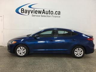 Used 2017 Hyundai Elantra LE - AUTO! HEATED SEATS! A/C! BLUETOOTH! for sale in Belleville, ON