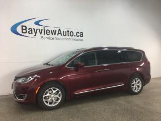 Used 2018 Chrysler Pacifica Touring-L Plus - HTD LTHR! ENTERTAINMENT SYSTEM! 3 ZONE CLIMATE! 9SPD AUTO! for sale in Belleville, ON