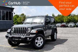New 2019 Jeep Wrangler Sport S|New Car|Conve,Cold.Wthr,Tech,Safety.Pkgs|Backup.Cam|Bluetooth| for sale in Thornhill, ON