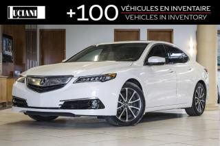 Used 2016 Acura TLX 2016 Acura TLX * ELITE * Nav * 7 Years Warranty * for sale in Montréal, QC