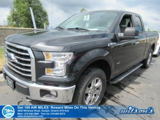 Used 2015 Ford F-150 XLT King Cab 2.7L Ecoboost - Bluetooth, Rear Camera, Cruise Control, Power Package and more! for sale in Guelph, ON