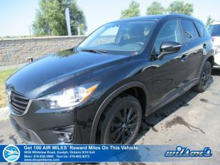 Used 2016 Mazda CX-5 GS AWD - NEW TIRES! Sunroof, Navigation, Rear Camera, Blind Spot Monitor, Bluetooth & More! for sale in Guelph, ON