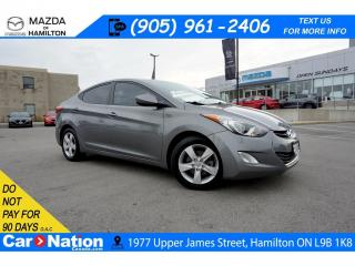 Used 2013 Hyundai Elantra GLS | SUNROOF | HEATED SEATS | BLUETOOTH for sale in Hamilton, ON