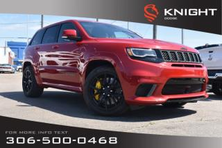 New 2018 Jeep Grand Cherokee Trackhawk 707 HP | Sunroof | Navigation for sale in Swift Current, SK